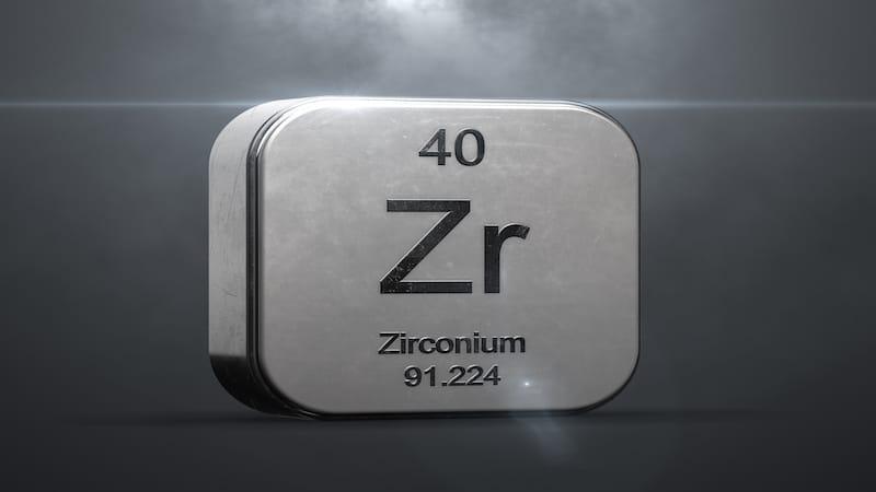Simbolo Zirconio
